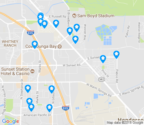 map of Midway apartments for rent