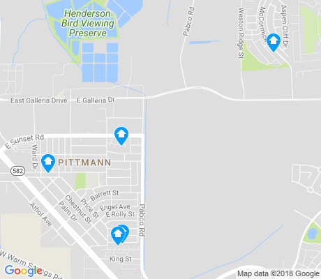 map of Pittman apartments for rent