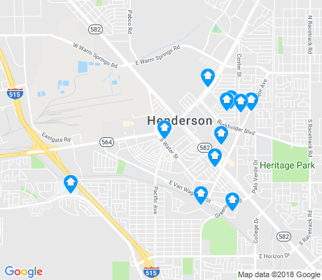 map of Townsite apartments for rent