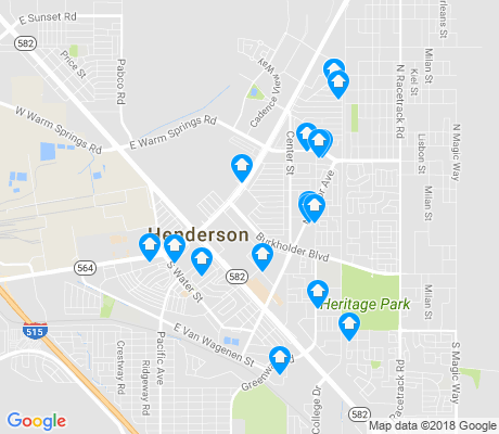 map of Valley View apartments for rent