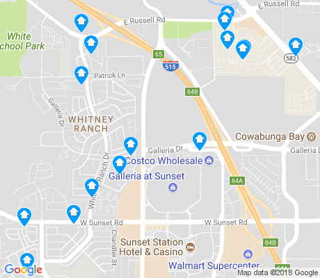 map of Whitney Ranch apartments for rent