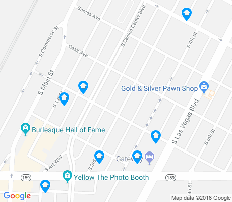 map of Arts District apartments for rent