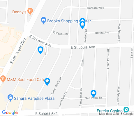 map of Beverly Green apartments for rent
