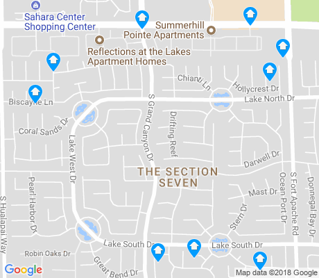 map of The Section Seven apartments for rent
