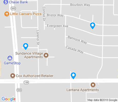 map of Torrey Pines Preservation apartments for rent