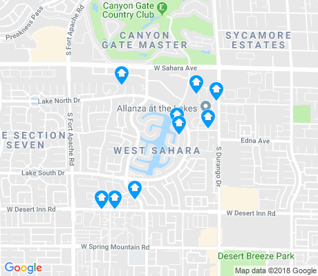 map of West Sahara apartments for rent
