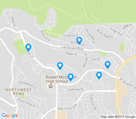 map of Silverado Ranch Estates apartments for rent