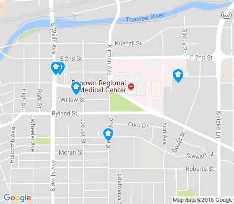 map of Washoe Regional Center apartments for rent