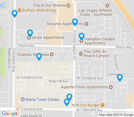 map of Chateau Nouveau apartments for rent