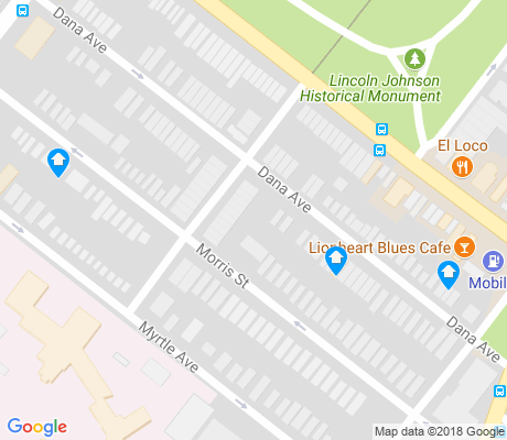 map of Park South apartments for rent