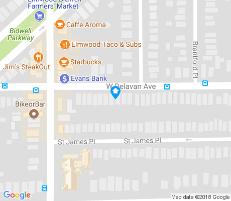 map of Albright apartments for rent