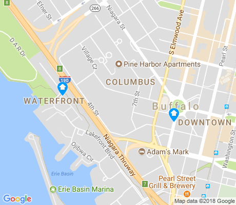 map of Columbus apartments for rent