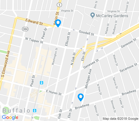 map of Willert Park apartments for rent