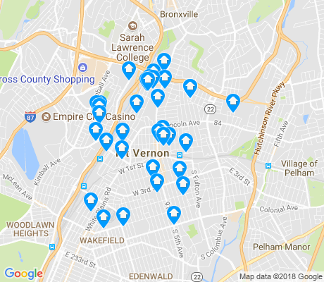 map of 10550 apartments for rent