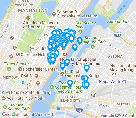 map of 10044 apartments for rent