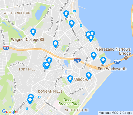 map of 10305 apartments for rent