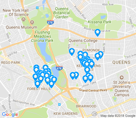 map of 11367 apartments for rent