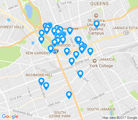 map of 11435 apartments for rent