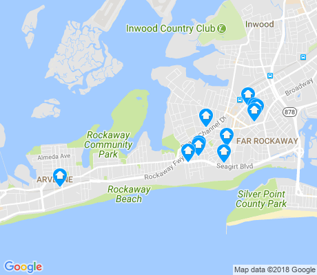 map of 11691 apartments for rent