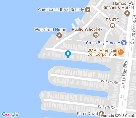 map of Broad Channel apartments for rent