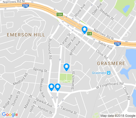 map of Concord apartments for rent