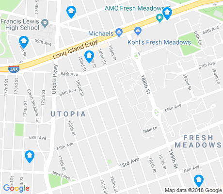 map of Fresh Meadows apartments for rent