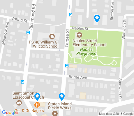 map of Grasmere apartments for rent