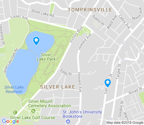 map of Grymes Hill apartments for rent