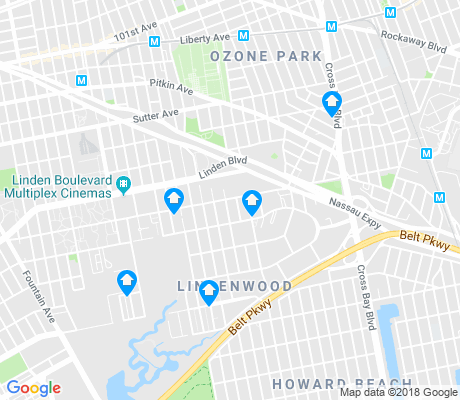 map of Howard Beach apartments for rent