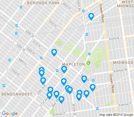 map of Mapleton apartments for rent