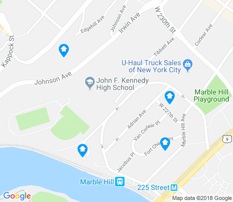 map of Marble Hill apartments for rent