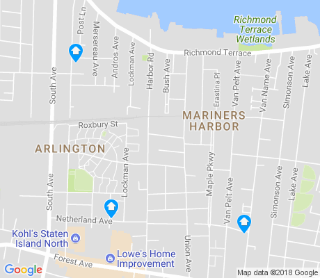 map of Mariners Harbor apartments for rent