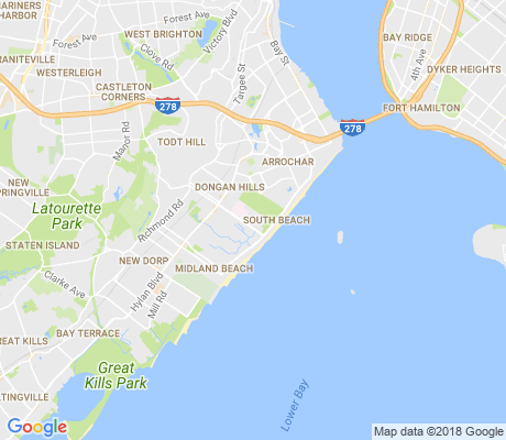 map of Ocean Breeze apartments for rent