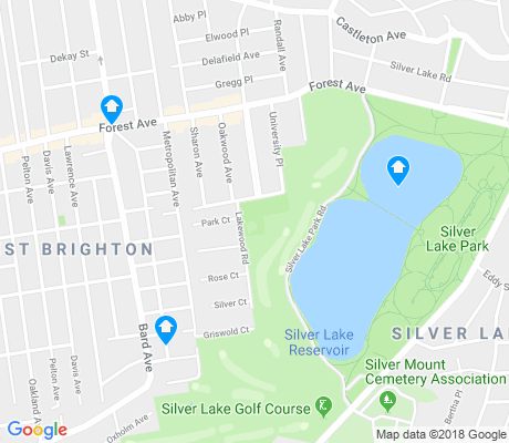 map of Silver Lake apartments for rent