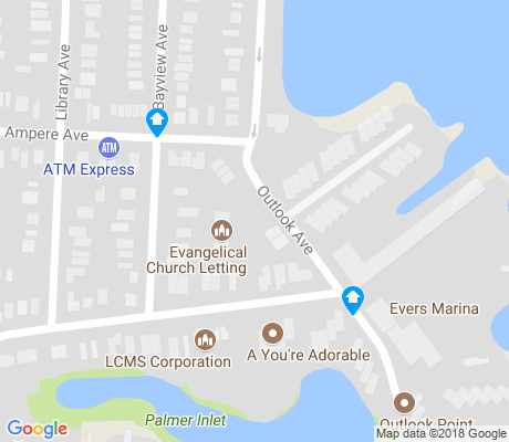 map of Spencer Estates apartments for rent