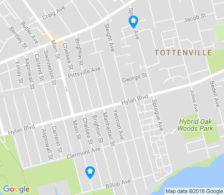 map of Tottenville apartments for rent