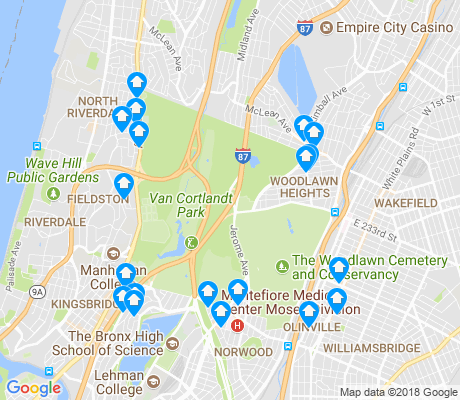 Van Cortlandt Park New York Apartments for Rent and Rentals - Walk Score