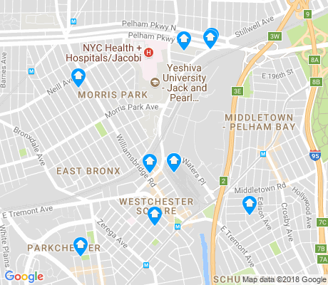 map of Westchester Village apartments for rent