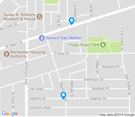 map of Mayor's Heights apartments for rent