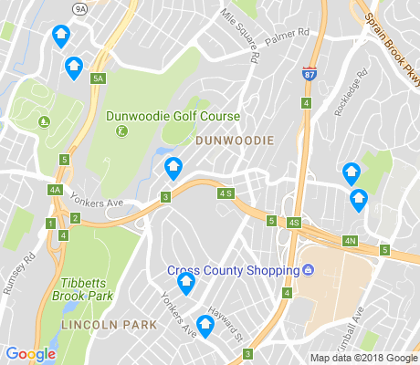 map of Dunwoodie apartments for rent