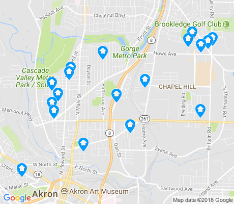 map of 44310 apartments for rent