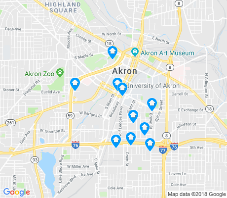 Downtown Akron Apartments for Rent and Rentals Walk Score