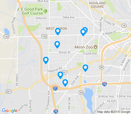 map of Lane-Wooster apartments for rent