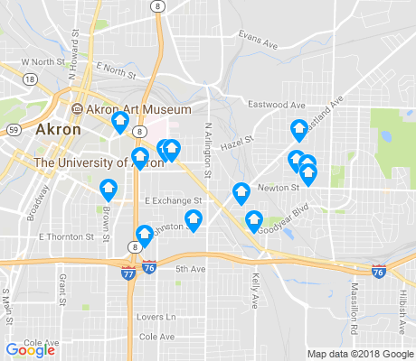 map of Middlebury apartments for rent