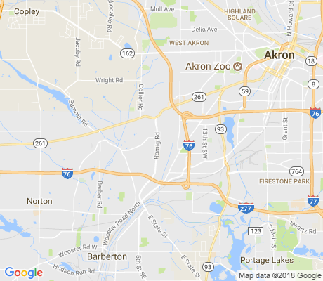 map of Rolling Acres apartments for rent