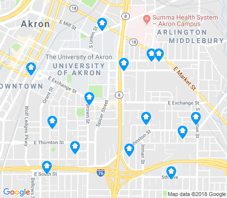 University of Akron Akron Apartments for Rent and Rentals Walk Score
