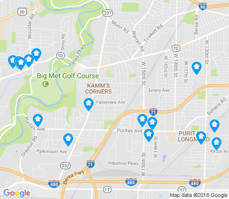 map of 44135 apartments for rent