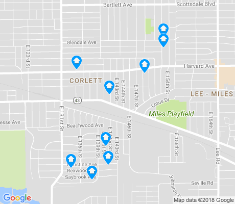 map of Corlett apartments for rent