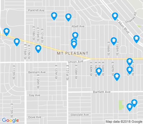 map of Mount Pleasant apartments for rent