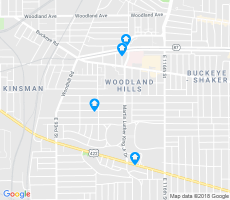 map of Woodland Hills apartments for rent